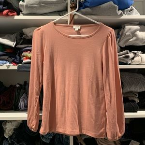 J.Crew long sleeve top